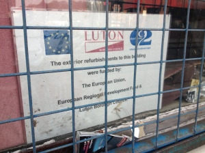 What has Europe ever done for us? Well, Luton benefits from the European Regional Development Fund, for a start.
