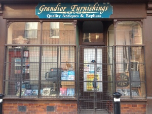 Never knowingly open: it's Grandior Furnishings.