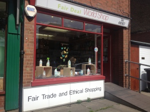 Small but marvellous: the Fair Deal World Shop, in Stopsley village.