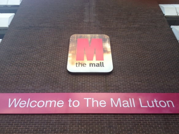 Mall like burning: welcome to the Arndale.
