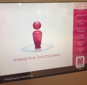 Shopping as it should be: interactivity is formally encouraged, but only on their terms.
