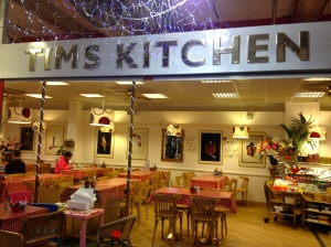 Tim's Kitchen in the Arndale indoor market.