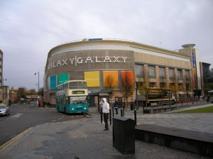 The ambitiously-named Galaxy Centre.