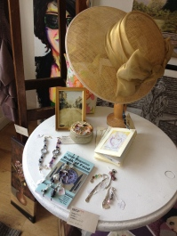 Hats and jewellery at Shop 33.