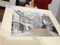 A wonderful then/now morph of High Town Road by local artist, Philip Duffy (http://www.lutonthroughtime.co.uk/)