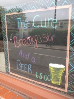 Are you an alcoholic? Do you drink beer with breakfast?