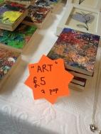 Art sign Scandi fair