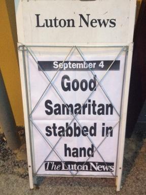 Heart-warming local news.